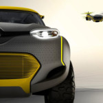 Concept car comes with Drone